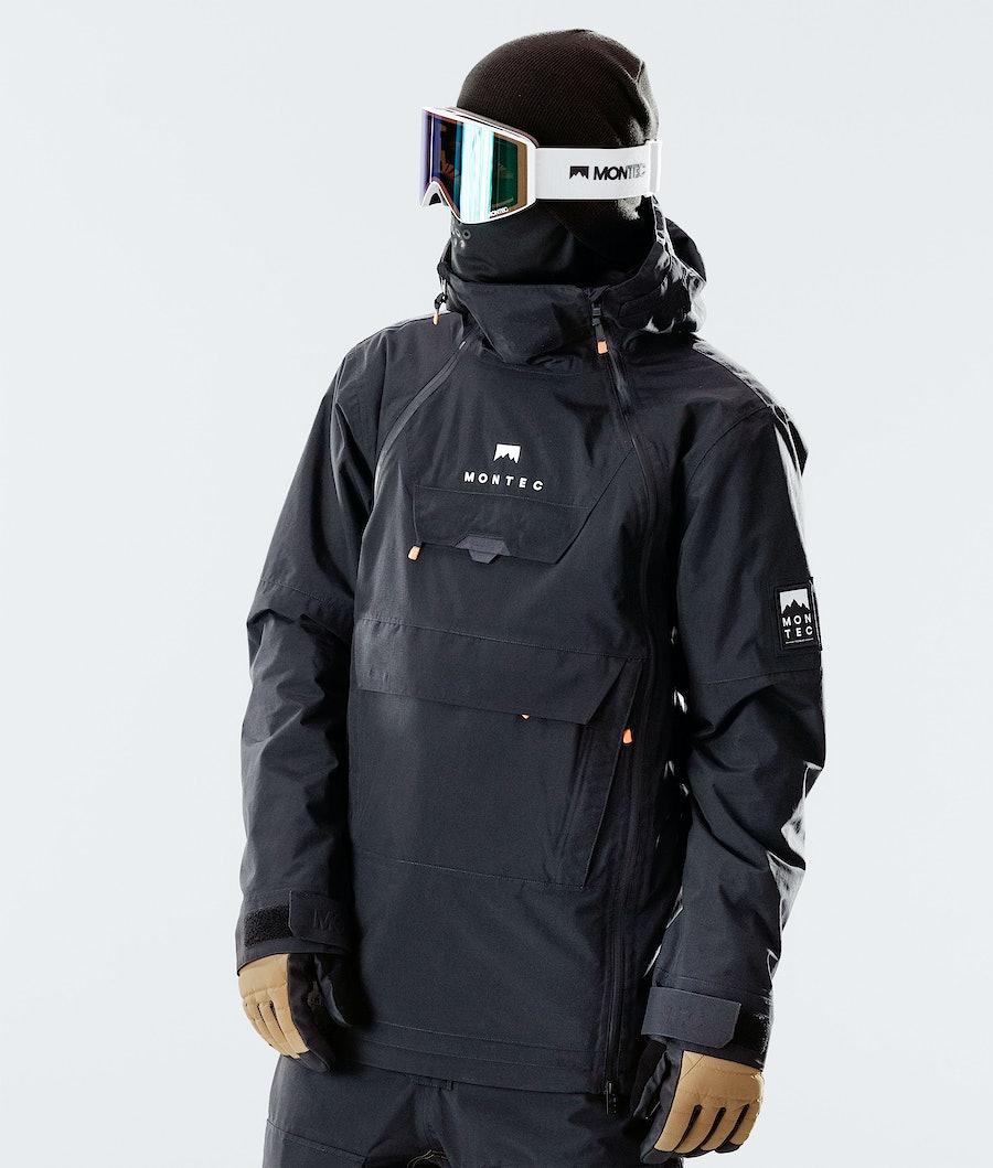 Montec Doom Snowboardjacka Black