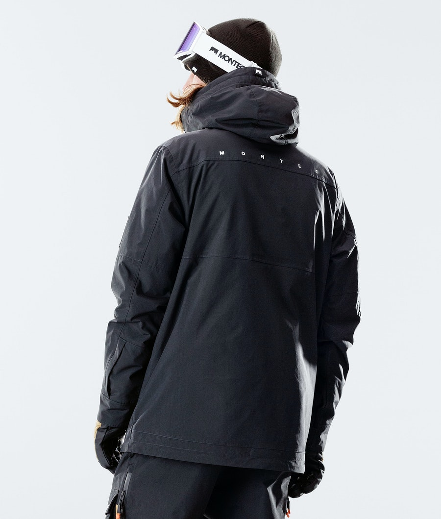 Montec Doom Snowboard Jacket Black