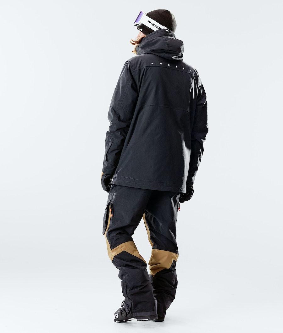 Montec Doom Skijakke Black