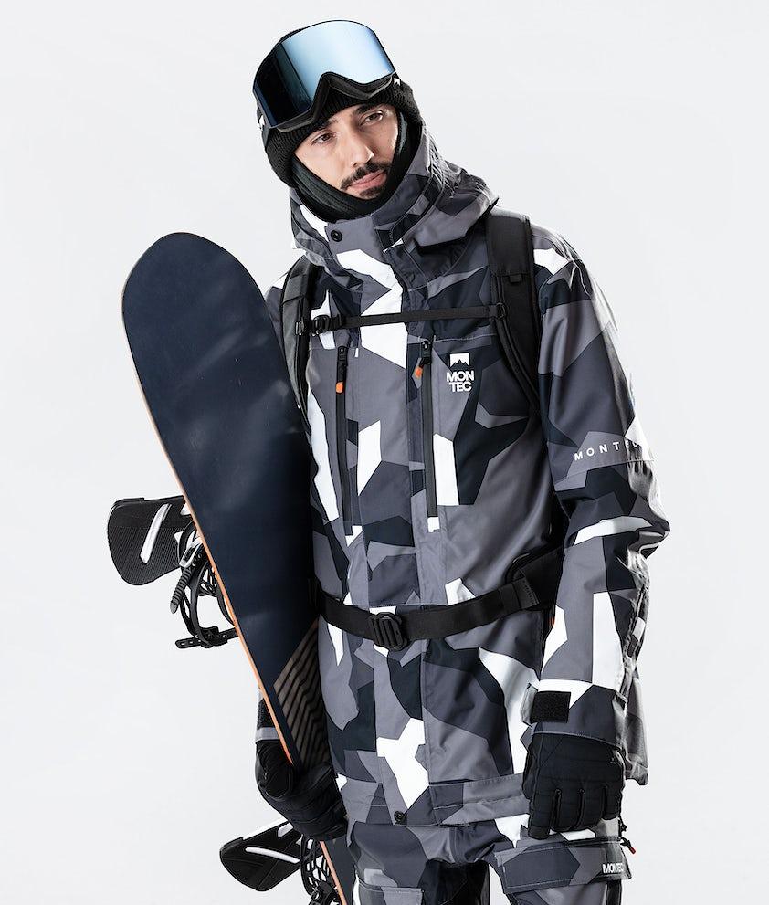 Montec Fawk Snowboardjacka Arctic Camo