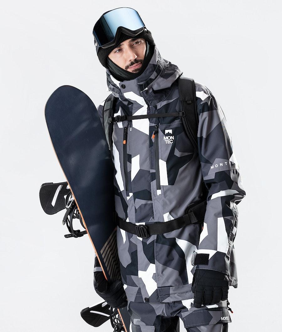 Fawk Snowboard Jacket Men Arctic Camo
