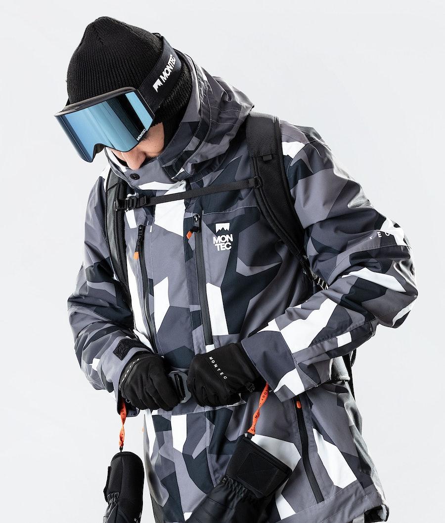 Montec Fawk Snowboard Jacket Arctic Camo
