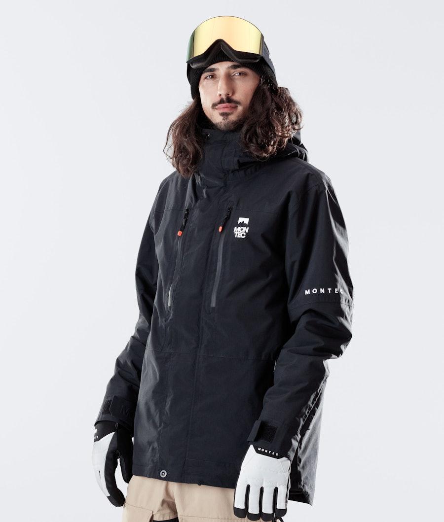 Montec Fawk Snowboardjacka Black