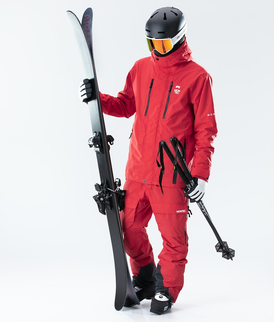 Montec Fawk Ski Jacket Red