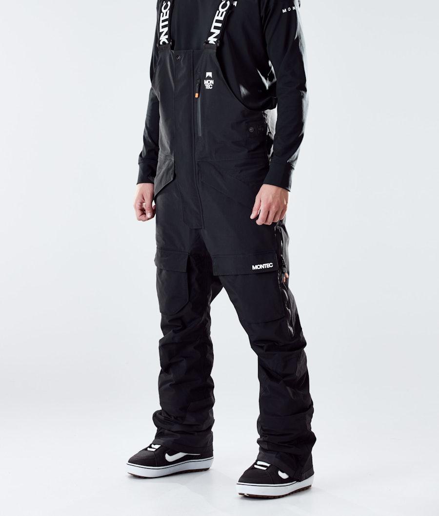 Montec Fawk Snowboard Broek Black