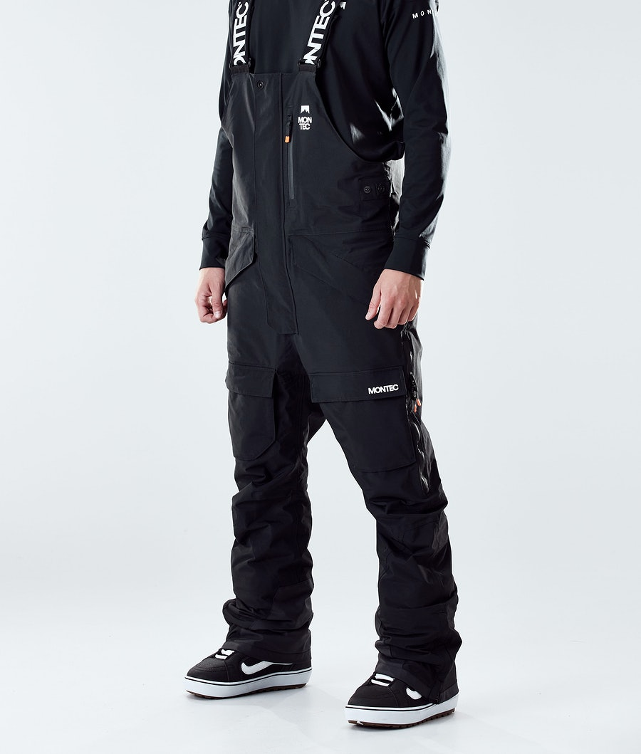 Montec Fawk Snowboardbyxa Black