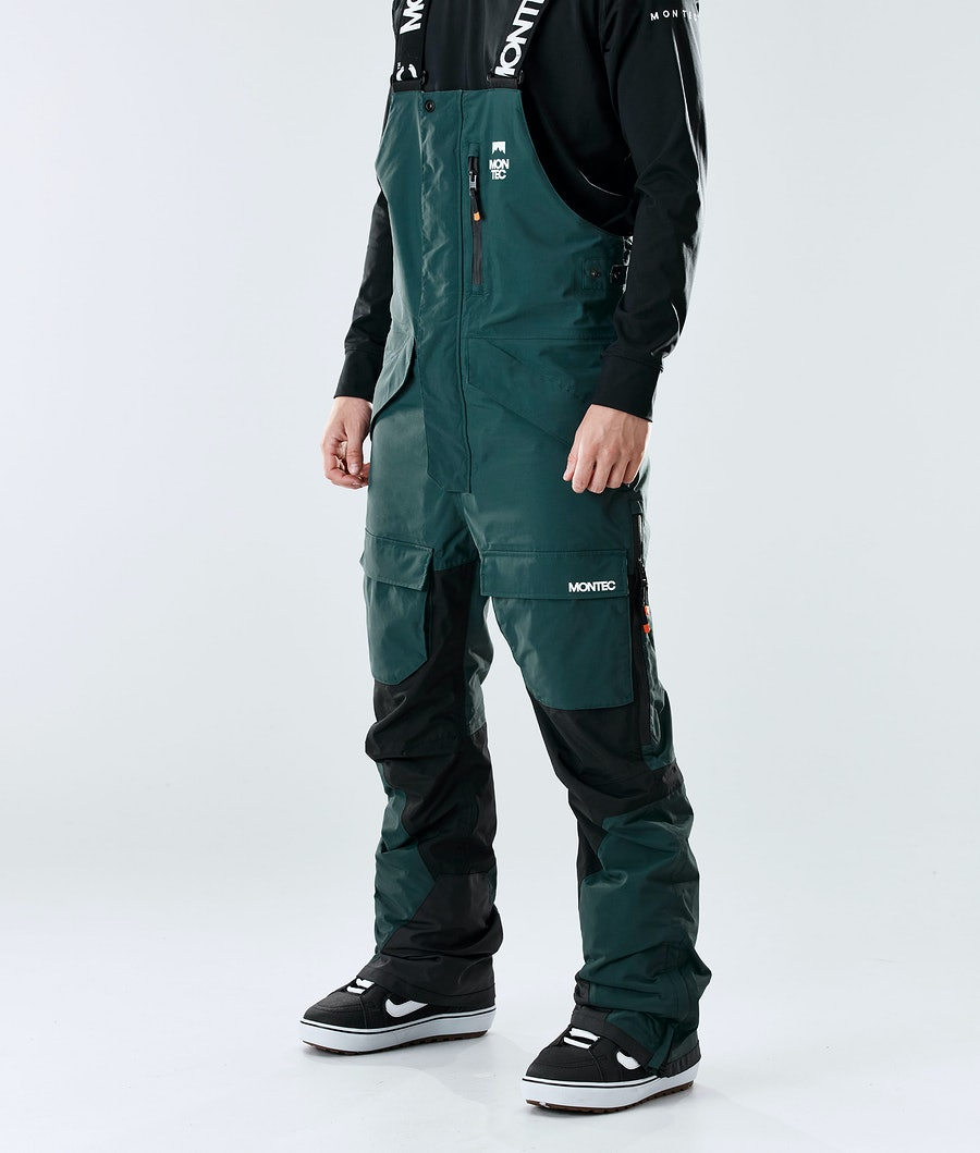 Montec Fawk Snowboardhose Dark Atlantic/Black