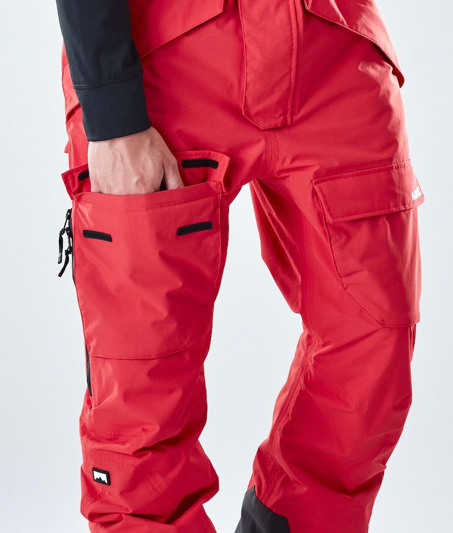 Montec Fawk Pantalon de Snowboard Red