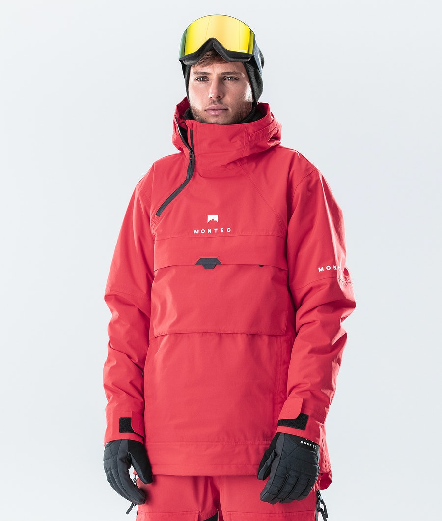 Montec Dune Snowboard Jacket Red