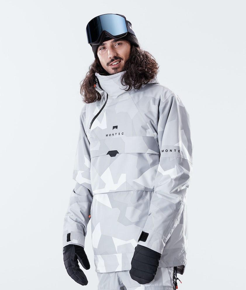 Montec Dune Snowboardjacka Snow Camo