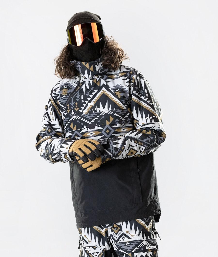 Dune Snowboard Jacket Men Komber Gold/Black