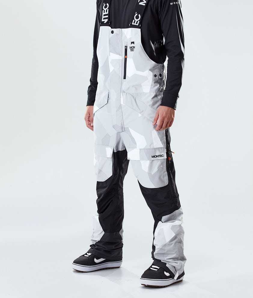 Montec Fawk Snowboardbyxa Snow Camo/Black