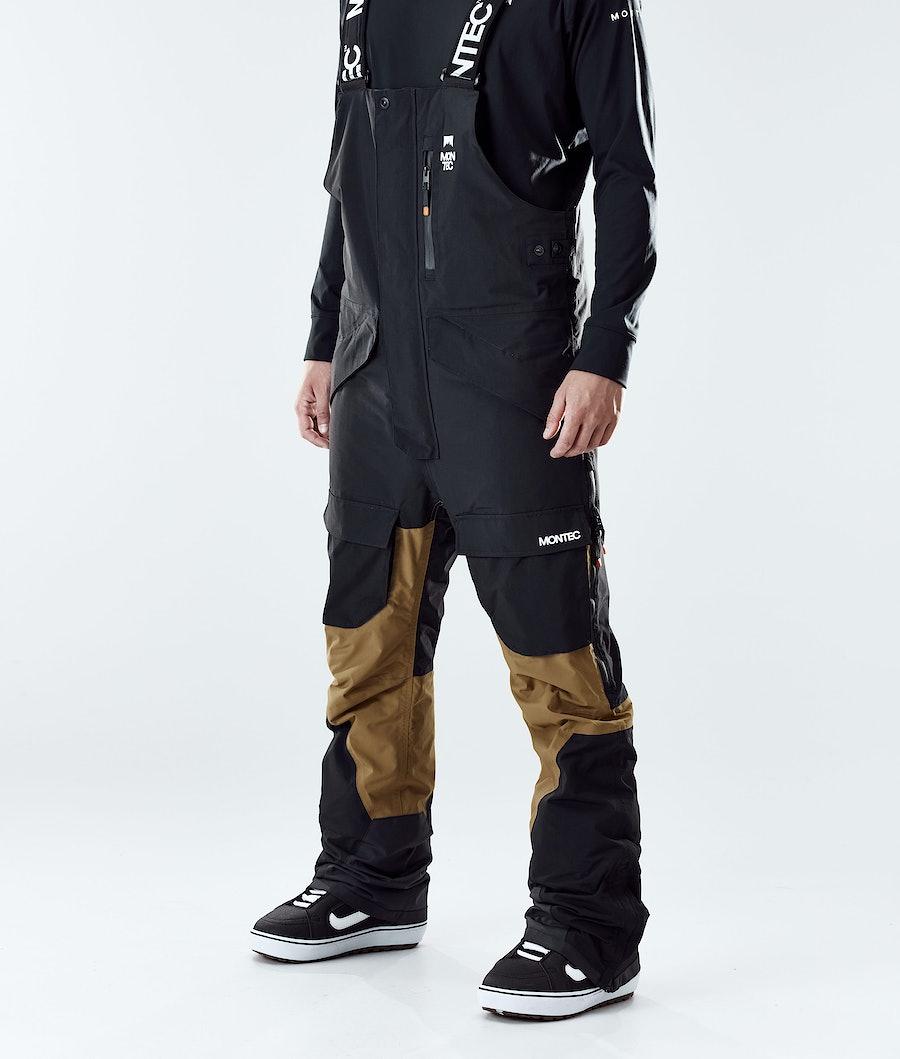 Montec Fawk Snowboard Pants Black/Gold