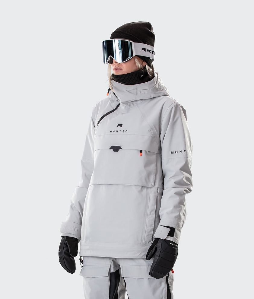 Montec Dune W Snowboardjakke Light Grey