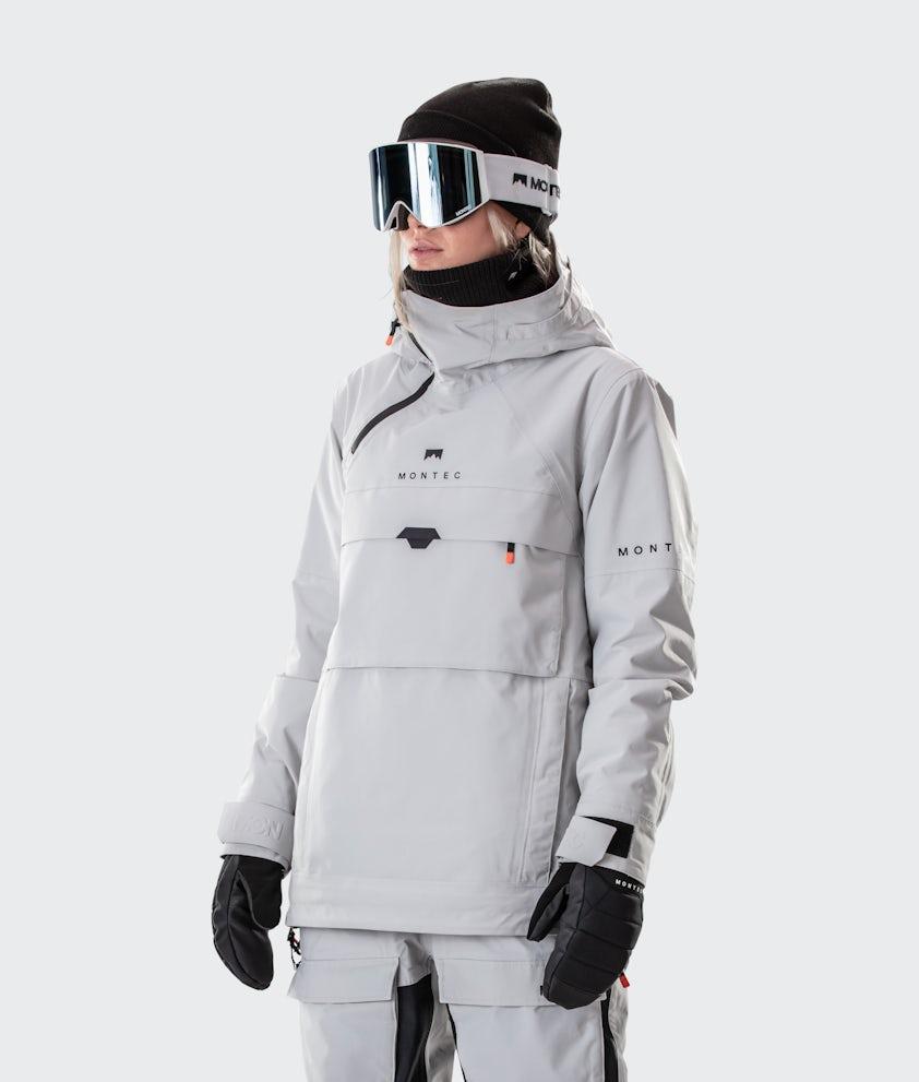 Montec Dune W Snowboardjacka Light Grey
