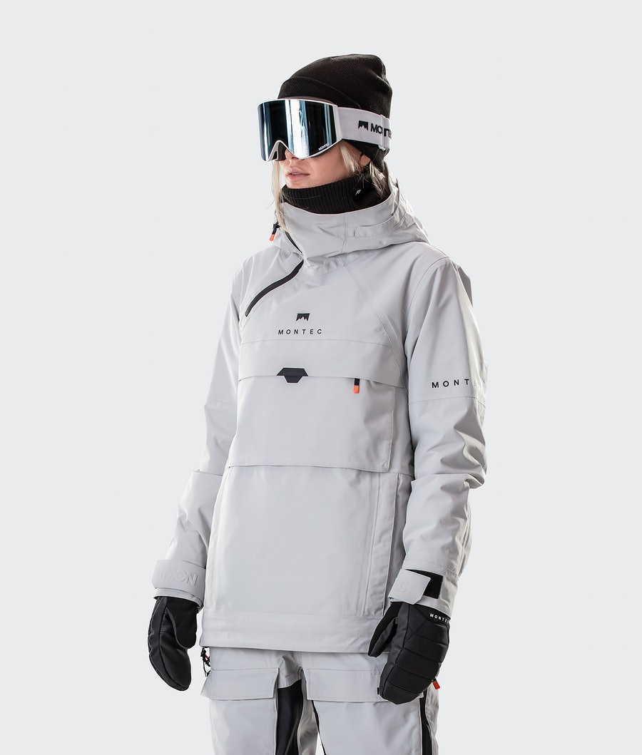 Montec Dune W Snowboardjacka Light Grey