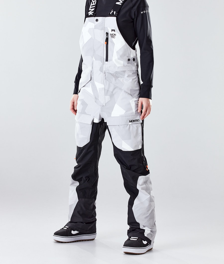 Montec Fawk W Snowboard Pants Snow Camo/Black
