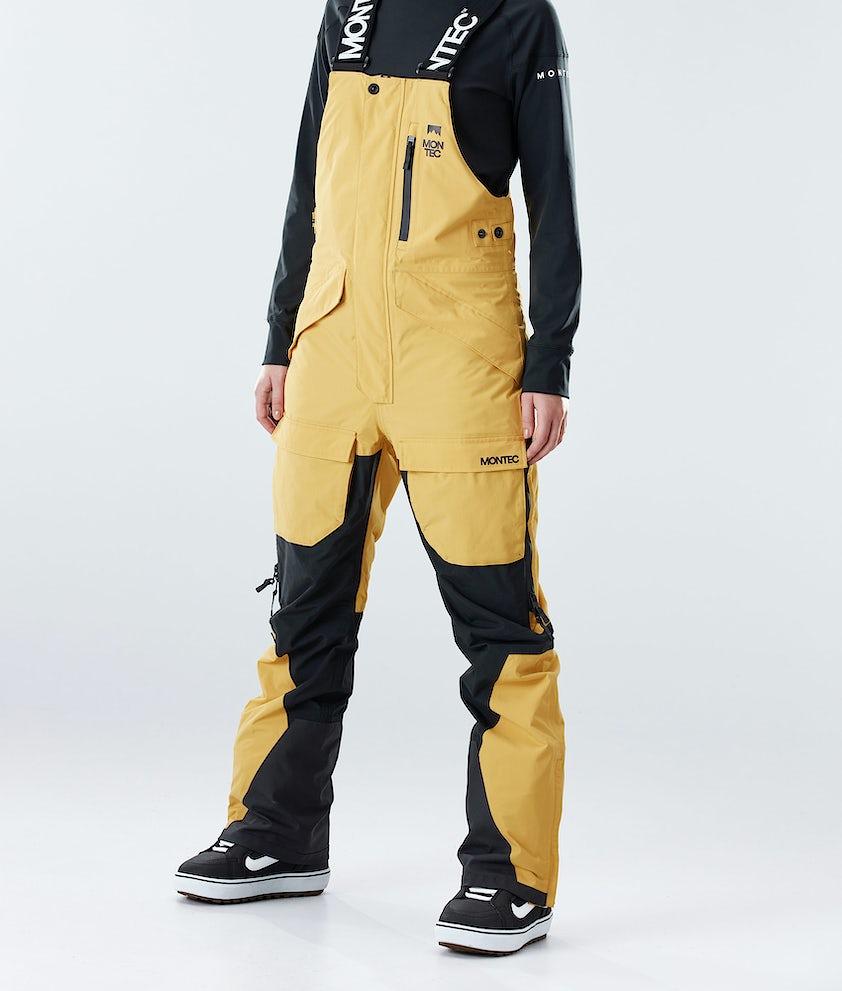 Montec Fawk W Snowboard Pants Yellow/Black