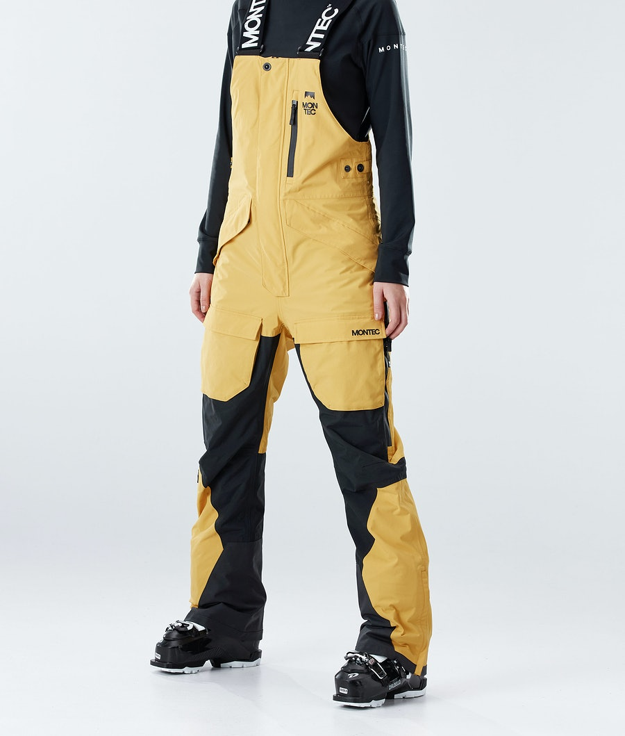Montec Fawk W Skihose Yellow/Black