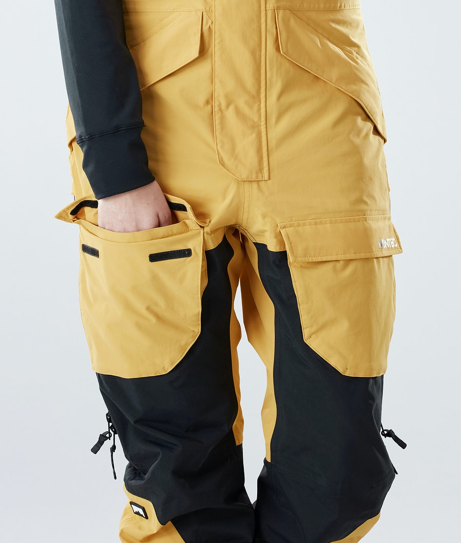 Montec Fawk W Skidbyxa Dam Yellow/Black
