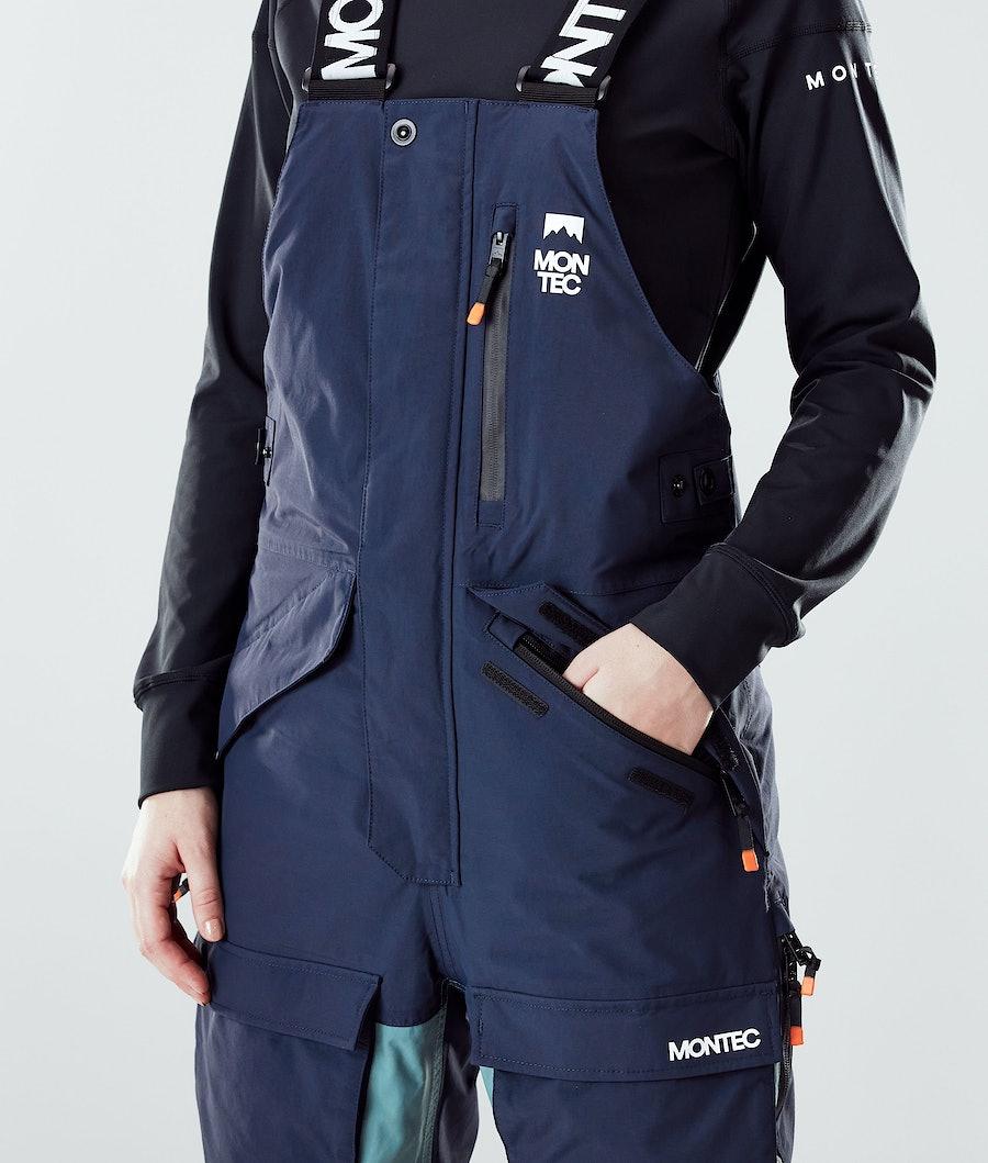 Montec Fawk W Skihose Damen Marine/Atlantic/Light Grey