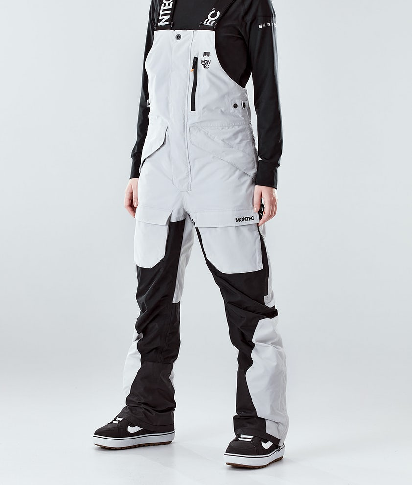 Montec Fawk W Snowboardhose Light Grey/Black