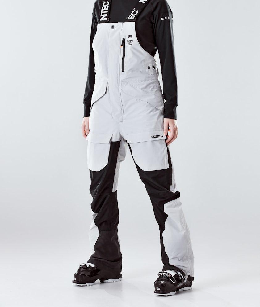 Montec Fawk W Pantalon de Ski Light Grey/Black