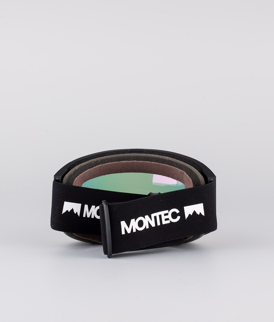 Montec Scope Medium Skibrille Black W/Black Pink Sapphire