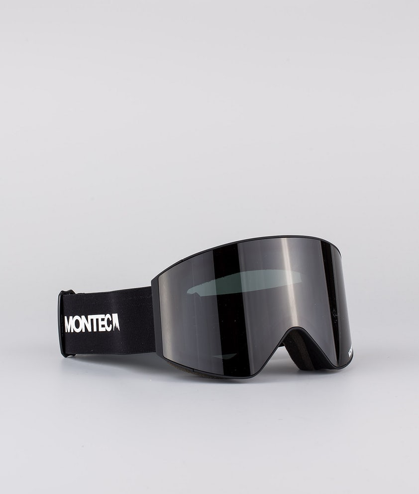 Montec Scope Medium Ski Goggle Black W/ Black Black