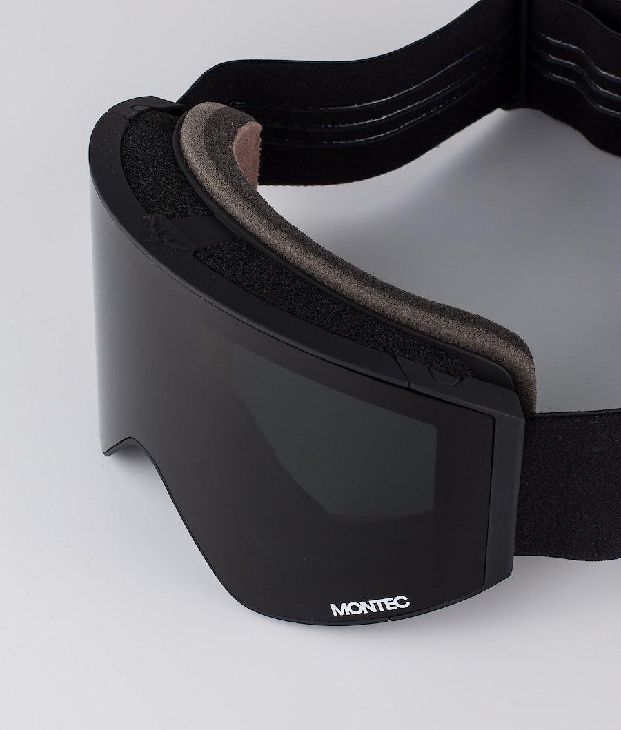 Montec Scope Medium Skidglasögon Black W/ Black Black