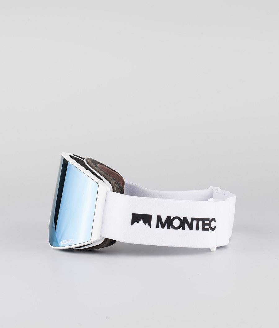 Montec Scope Medium Skibrille White W/White Moon Blue