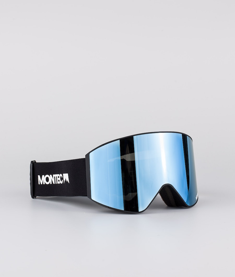 Montec Scope Medium Skidglasögon Black W/Black Moon Blue