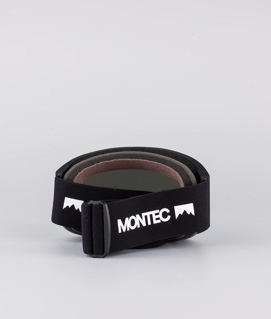 Montec Scope Medium Skibrille Black W/Black Moon Blue