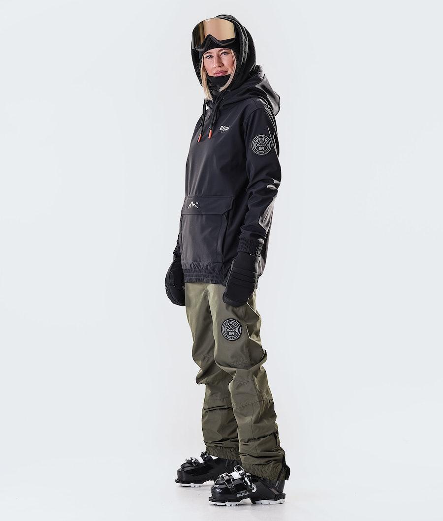 Dope Wylie Capital W Veste de Ski Femme Black