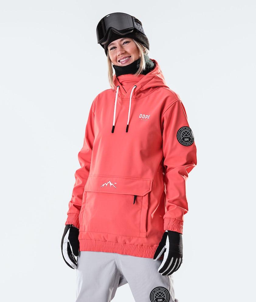 Dope Wylie Capital W Snowboard Jacket Coral