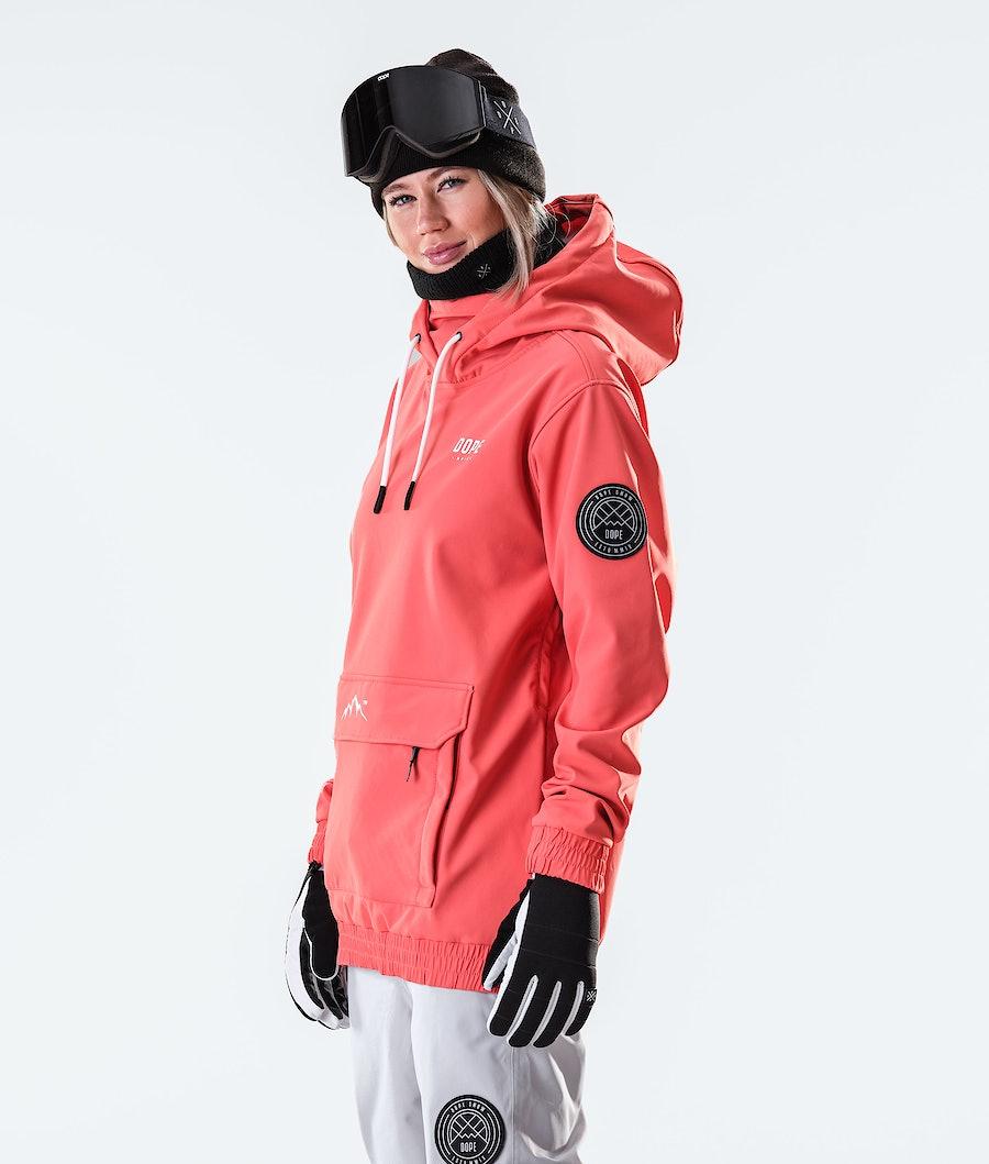 Dope Wylie Capital W Women's Snowboard Jacket Coral