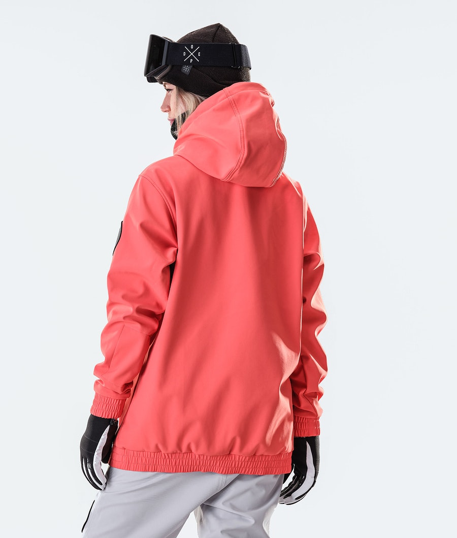 Dope Wylie Capital W Women's Ski Jacket Coral