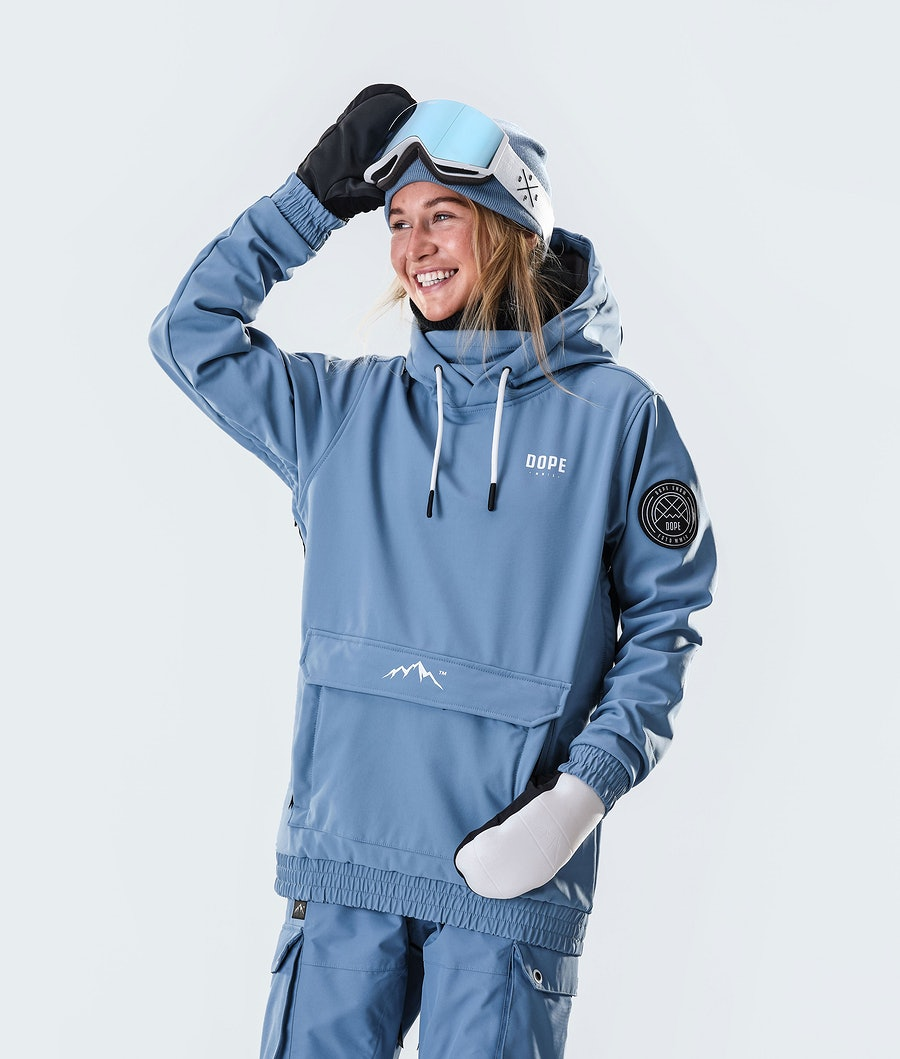 Dope Wylie Capital W Snowboardjacke Damen Blue Steel