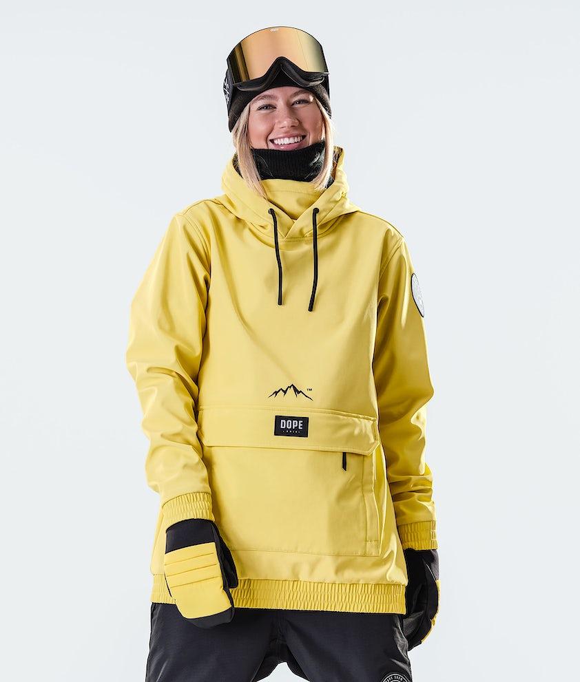 Dope Wylie Patch W Snowboardjacka Faded Yellow