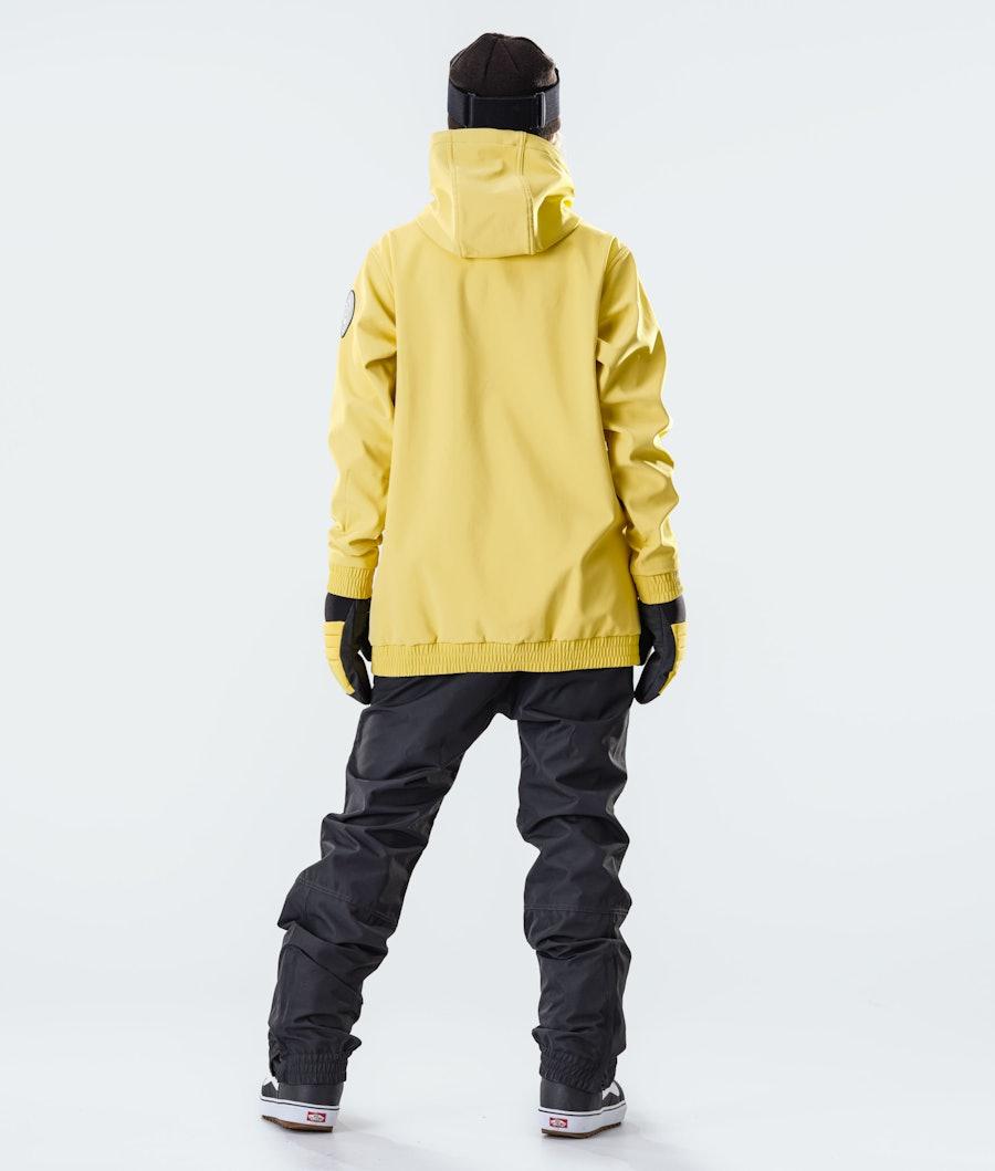 Dope Wylie Patch W Veste de Snowboard Femme Faded Yellow