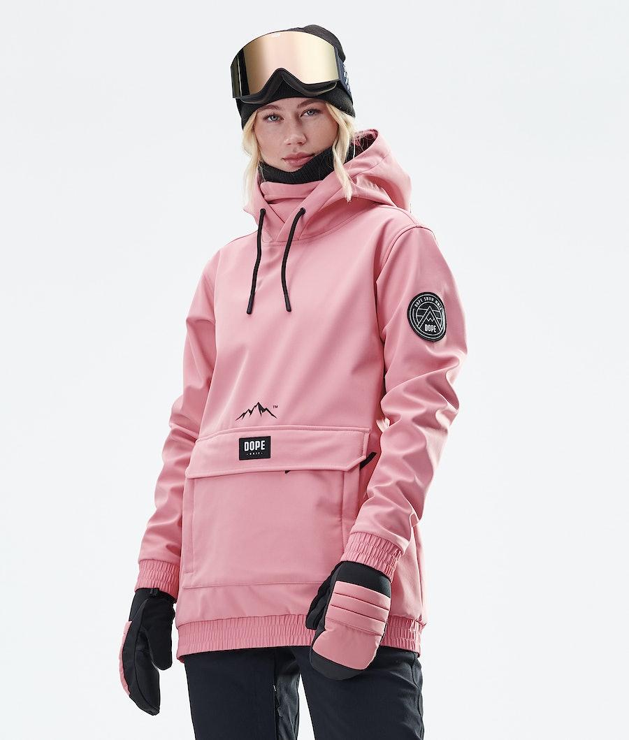 Dope Wylie Patch W Snowboardjakke Pink