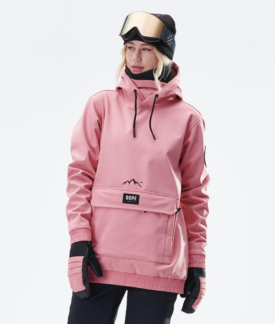 Dope Wylie Patch W Snowboardjacka Dam Pink