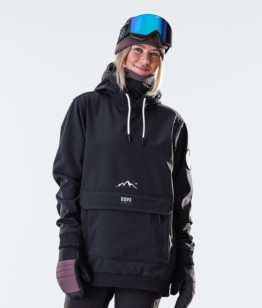 Dope Wylie Patch W Veste de Snowboard Black