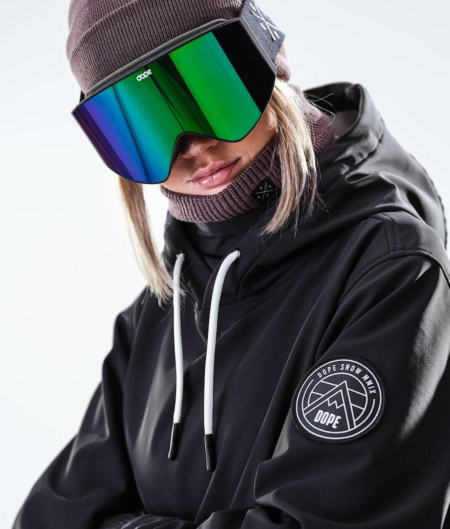 Dope Wylie Patch W Women's Snowboard Jacket Black