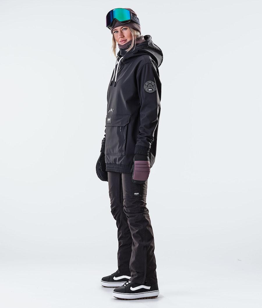 Dope Wylie Patch W Veste de Snowboard Femme Black