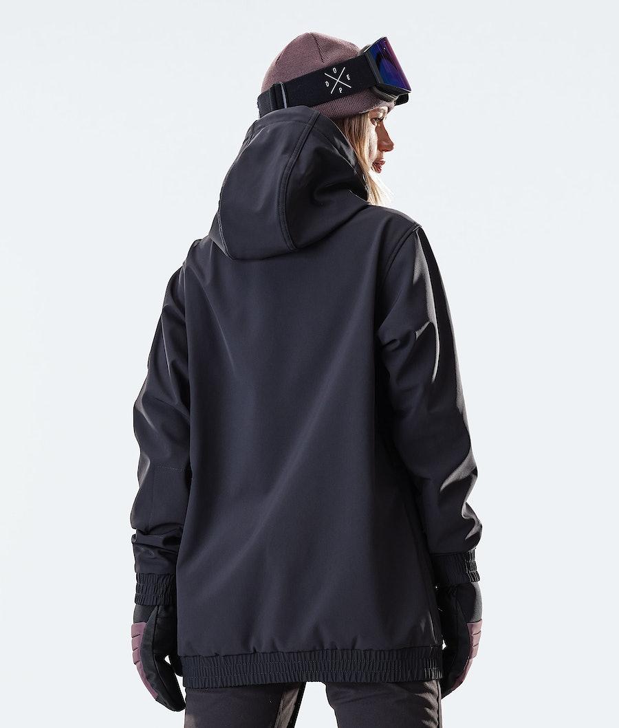 Dope Wylie Patch W Veste de Ski Femme Black