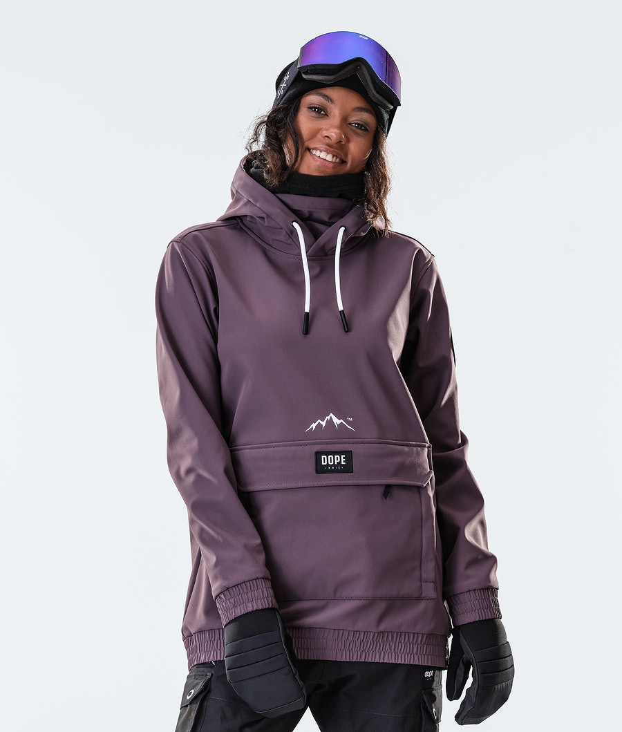 Dope Wylie Patch W Snowboardjacke Light Plum