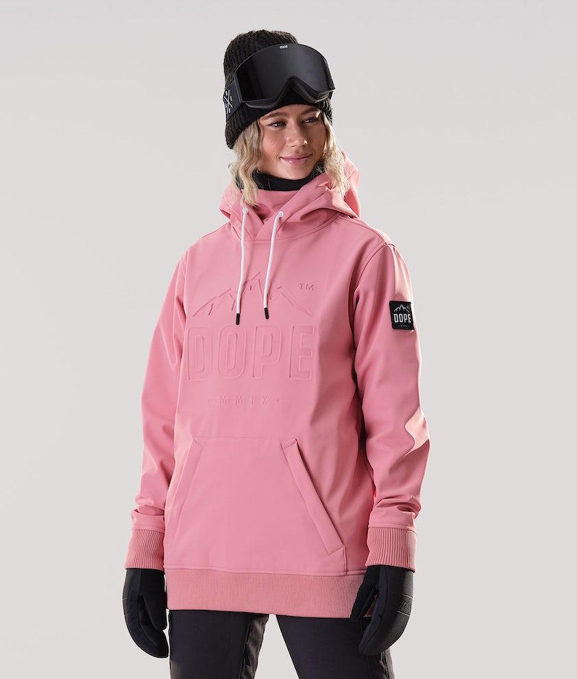 Dope Yeti EMB Snowboardjakke Pink