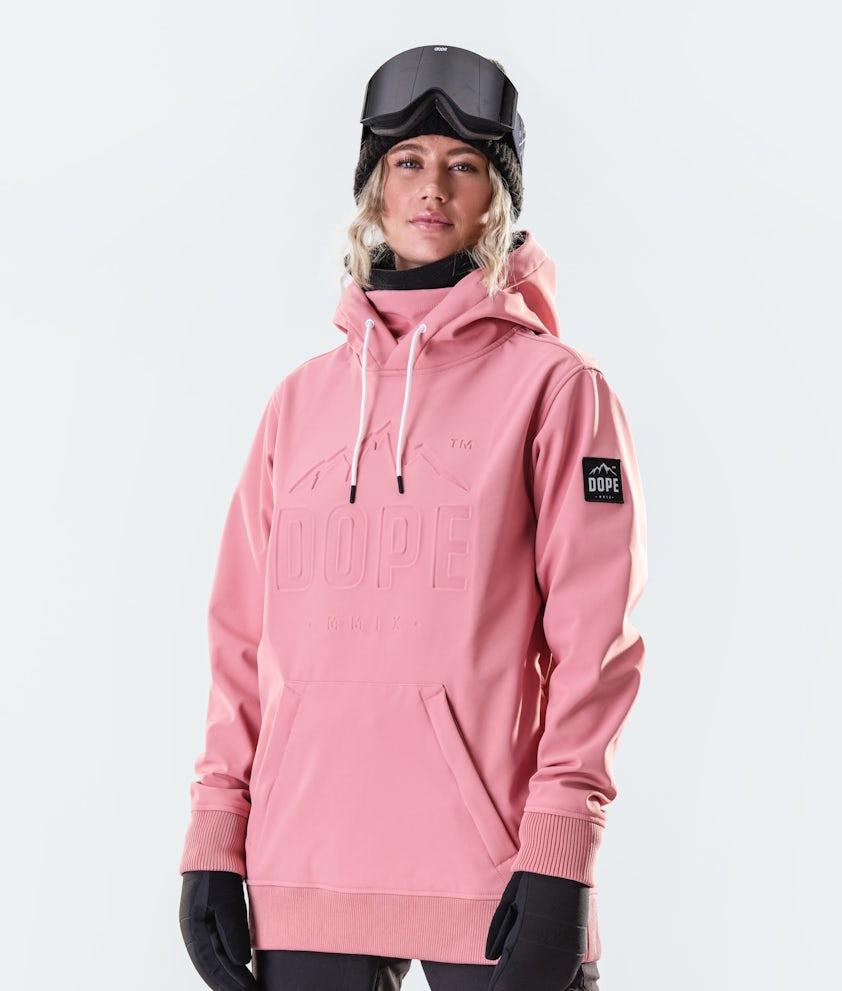 Dope Yeti EMB Snowboard Jacket Pink