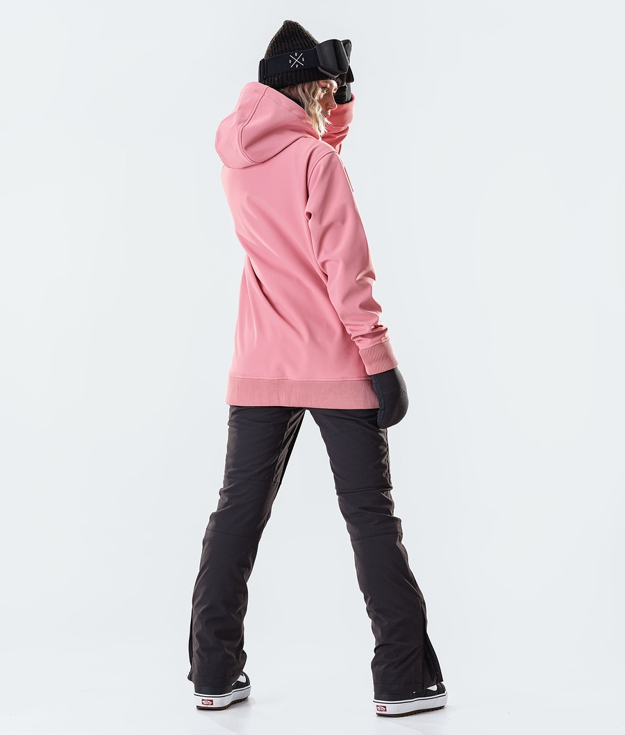 Dope Yeti EMB Women's Snowboard Jacket Pink